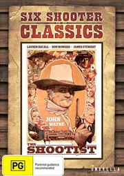 Shootist Six Shooter Classics, The | DVD