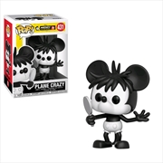 Mickey Mouse - 90th Anniversary Plane Crazy Mickey Pop! Vinyl | Pop Vinyl