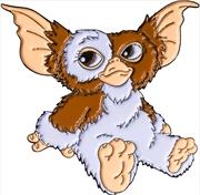 Gremlins - Gizmo Sitting Enamel Pin