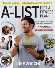 The A-List Diet And Fitness Plan | Paperback Book