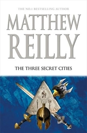 The Three Secret Cities: Jack West Jr Book 5 | Hardback Book