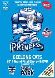 AFL Premiers 2011 - Geelong - Limited Edition | Blu-ray + DVD - Collector's Tin Box