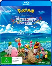 Pokemon The Movie - The Power Of Us | Blu-ray
