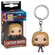 Captain Marvel - Captain Marvel Pop! Keychain