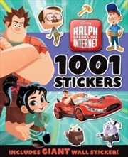 Disney: Ralph Breaks The Internet 1001 Stickers Book | Paperback Book