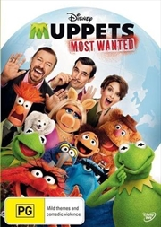 Muppets - Most Wanted | DVD