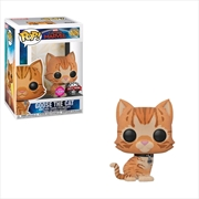 Captain Marvel - Goose the Cat Flocked US Exclusive Pop! Vinyl [RS]