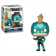 Captain Marvel - Vers Masked US Exclusive Pop! Vinyl [RS] | Pop Vinyl