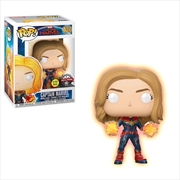Captain Marvel - Captain Marvel Glow Hands US Exclusive Pop! Vinyl [RS]