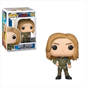 Captain Marvel - Carol Danvers Flight Suit US Exclusive Pop! Vinyl [RS]