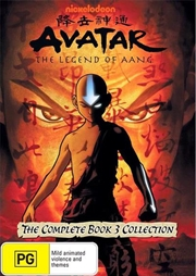 Avatar - The Last Airbender - Fire - Book 3 - Vol 1-4 Collection | DVD