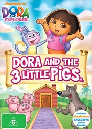 Dora The Explorer - 3 Little Pigs