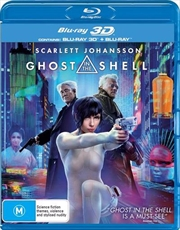 Ghost In The Shell | 3D + 2D Blu-ray