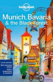 Lonely Planet Travel Guide : 6th Edition - Munich, Bavaria & the Black Forest
