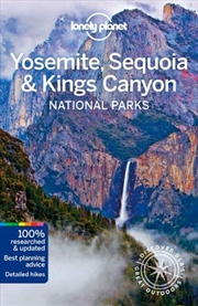 Lonely Planet Travel Guide - Yosemite, Sequoia & Kings Canyon National Parks