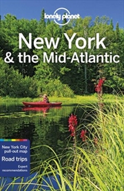 Lonely Planet Travel Guide - New York & the Mid-Atlantic