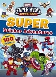 Marvel: Super Hero Adventures Sticker Activity Book