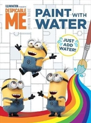 Despicable Me: Paint with Water | Paperback Book