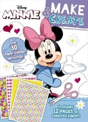 Disney: Minnie Mouse Make & Create Activity Book | Paperback Book