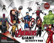 Marvel: Avengers Giant Activity Pad | Paperback Book