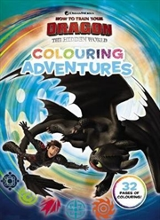 How to Train your Dragon The Hidden World: Colouring Adventures