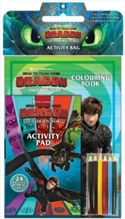 How to Train your Dragon: The Hidden World: Activity Bag | Paperback Book