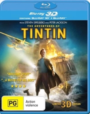 Adventures Of Tintin | 3D + 2D Blu-ray, The