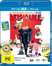 Despicable Me | 3D + 2D Blu-ray