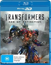 Transformers - Age Of Extinction | 3D Blu-ray