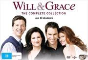 Will and Grace - Season 1-8 | Boxset