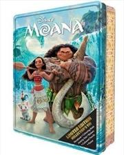 Disney Moana: Collector's Tin | Hardback Book