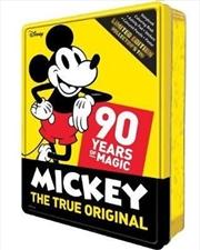 Disney: Mickey's 90th Anniversary Collector's Tin | Hardback Book