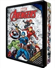 Marvel Avengers: Collector's Tin | Hardback Book