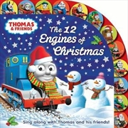 Thomas & Friends: The 12 Engines of Christmas | Hardback Book