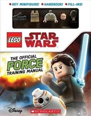 LEGO Star Wars: The Official Force Training Manual with Figurine | Paperback Book