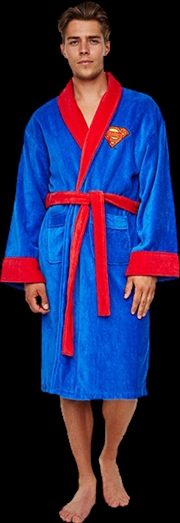 Superman  Fleece Robe Blue | Miscellaneous