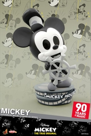 Mickey Mouse - 90th Mickey (Steamboat Willie) Cosbaby