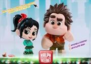 Wreck-It-Ralph 2: Ralph Breaks the Internet - Ralph & Vanellope Cosbaby Set | Merchandise