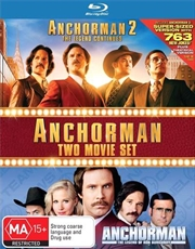 Anchorman - The Legend Of Ron Burgundy / Anchorman 2 - The Legend Continues | Blu-ray