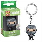 Fortnite - Havoc Pop! Keychain | Pop Vinyl