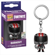 Fortnite - Burnout Pop! Keychain | Pop Vinyl