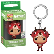 Fortnite - Tricera Ops Pop! Keychain | Pop Vinyl