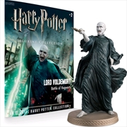 Harry Potter - Voldemort 1:16 Figure & Magazine | Merchandise