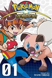 Pokemon Horizon: Sun And Moon Vol. 1 | Paperback Book