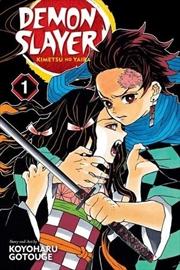Demon Slayer: Kimetsu No Yaiba Vol. 1 | Paperback Book