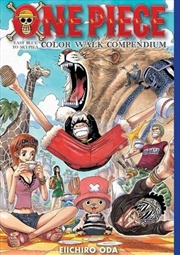 One Piece Color Walk Compendium | Hardback Book