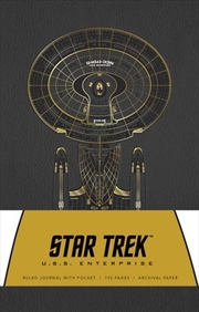 Star Trek Hardcover Ruled Journal | Hardback Book