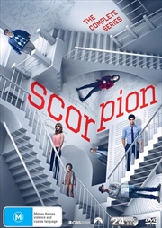 Scorpion - Season 1-4 | Boxset