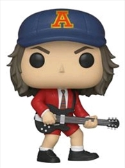 AC/DC - Angus Young Red Jacket US Exclusive (with chase) Pop! [RS]