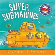 Amazing Machines: Super Submarines | Board Book